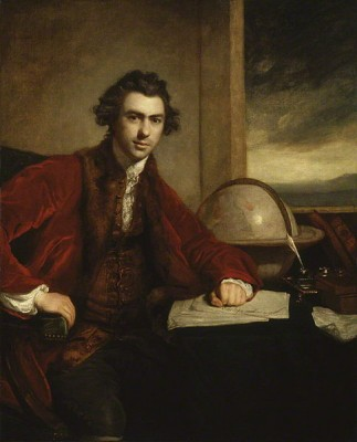 portrait Joseph Banks