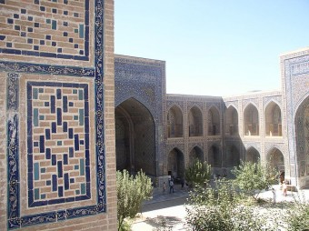 Ulugh-beg_Madrassa_courtyard