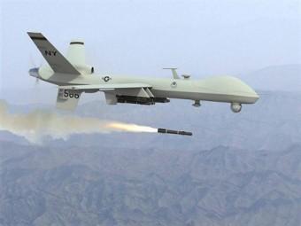 drone americain en action