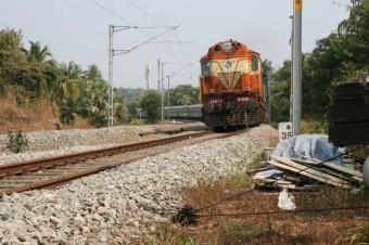 train de voyageurs keralais