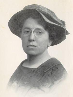 portrait Emma Goldman