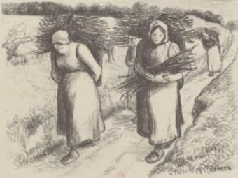 Pissaro-paysannes-fagots