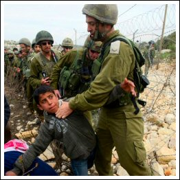 Enfant-Palestinien arrestation