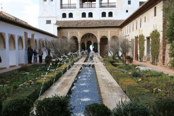 Generalife jardin