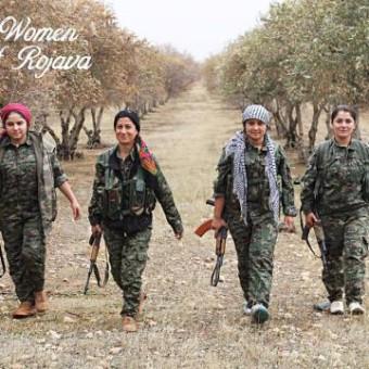 free-rojava-women
