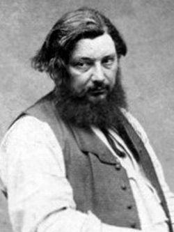 Gustave Courbet ne cachait pas ses sympathies pour le drapeau noir
